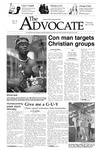 The Advocate, September 26, 2002 by Minnesota State University Moorhead
