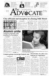 The Advocate, October 31, 2002 by Minnesota State University Moorhead