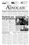 The Advocate, January 30, 2003 by Minnesota State University Moorhead