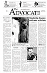 The Advocate, March 13, 2003 by Minnesota State University Moorhead