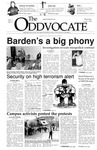 The Advocate, April 3, 2003 by Minnesota State University Moorhead