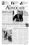 The Advocate, January 15, 2004 by Minnesota State University Moorhead