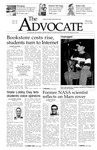 The Advocate, January 22, 2004 by Minnesota State University Moorhead