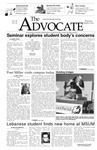 The Advocate, March 4, 2004 by Minnesota State University Moorhead