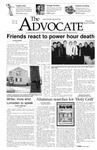 The Advocate, March 25, 2004 by Minnesota State University Moorhead