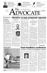 The Advocate, April 8, 2004 by Minnesota State University Moorhead