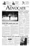 The Advocate, December 9, 2004 by Minnesota State University Moorhead