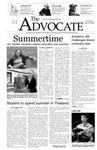 The Advocate, April 28, 2005 by Minnesota State University Moorhead