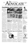 The Advocate, November 3, 2005 by Minnesota State University Moorhead