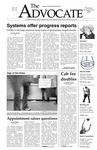 The Advocate, November 10, 2005 by Minnesota State University Moorhead