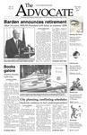 The Advocate, November 1, 2007 by Minnesota State University Moorhead