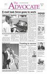 The Advocate, November 8, 2007 by Minnesota State University Moorhead