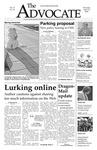 The Advocate, April 10, 2008 by Minnesota State University Moorhead