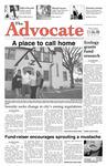 The Advocate, November 6, 2008 by Minnesota State University Moorhead