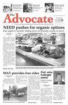 The Advocate, November 13, 2008 by Minnesota State University Moorhead