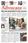 The Advocate, December 4, 2008 by Minnesota State University Moorhead