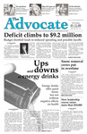The Advocate, January 15, 2009 by Minnesota State University Moorhead
