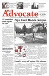 The Advocate, January 29, 2009 by Minnesota State University Moorhead
