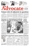 The Advocate, February 5, 2009 by Minnesota State University Moorhead