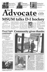 The Advocate, April 9, 2009 by Minnesota State University Moorhead