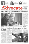 The Advocate, April 16, 2009 by Minnesota State University Moorhead