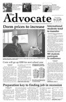 The Advocate, April 23, 2009 by Minnesota State University Moorhead
