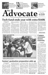 The Advocate, April 30, 2009 by Minnesota State University Moorhead