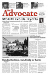 The Advocate, August 27, 2009 by Minnesota State University Moorhead