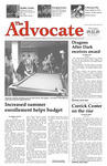 The Advocate, September 3, 2009 by Minnesota State University Moorhead