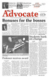The Advocate, October 1, 2009 by Minnesota State University Moorhead
