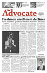 The Advocate, October 8, 2009 by Minnesota State University Moorhead