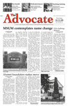 The Advocate, October 15, 2009 by Minnesota State University Moorhead