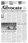 The Advocate, November 12, 2009 by Minnesota State University Moorhead