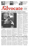 The Advocate, December 3, 2009 by Minnesota State University Moorhead