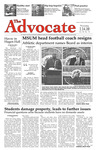 The Advocate, January 14, 2010 by Minnesota State University Moorhead
