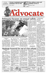 The Advocate, February 18, 2010 by Minnesota State University Moorhead