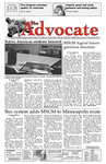 The Advocate, March 11, 2010 by Minnesota State University Moorhead