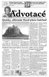 The Advocate, April 1, 2010 by Minnesota State University Moorhead