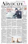 The Advocate, February 10, 2011 by Minnesota State University Moorhead