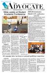 The Advocate, April 21, 2011 by Minnesota State University Moorhead