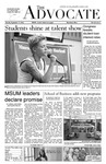 The Advocate, September 17, 2013 by Minnesota State University Moorhead