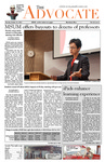 The Advocate, October 22, 2013 by Minnesota State University Moorhead
