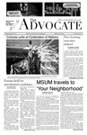 The Advocate, April 8, 2014 by Minnesota State University Moorhead