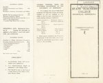 Bulletin Correspondence Courses (1922-23) by Moorhead State Teachers College