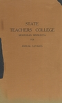 Annual Catalog (1925) by State Teachers College