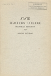Annual Catalog (1927) by State Teachers College