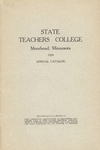 Annual Catalog (1929) by State Teachers College