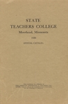 Annual Catalog (1930) by State Teachers College