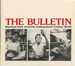 The Bulletin, Undergraduate Catalog 1983-85, Volume 83, Number 5, October (1983) by Moorhead State University