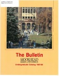 The Bulletin, Undergraduate Catalog 1987-89, volume 87, number 5, September (1987)